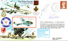 RAFA 7 RAF Battle of Britain cover signed DOE DSO DFC & THOMAS