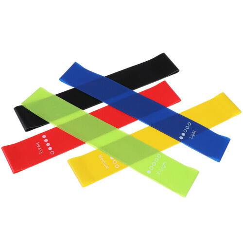 Resistance Bands Rubber Band Workout Fitness Equipment Yoga Training Bands ~ CO
