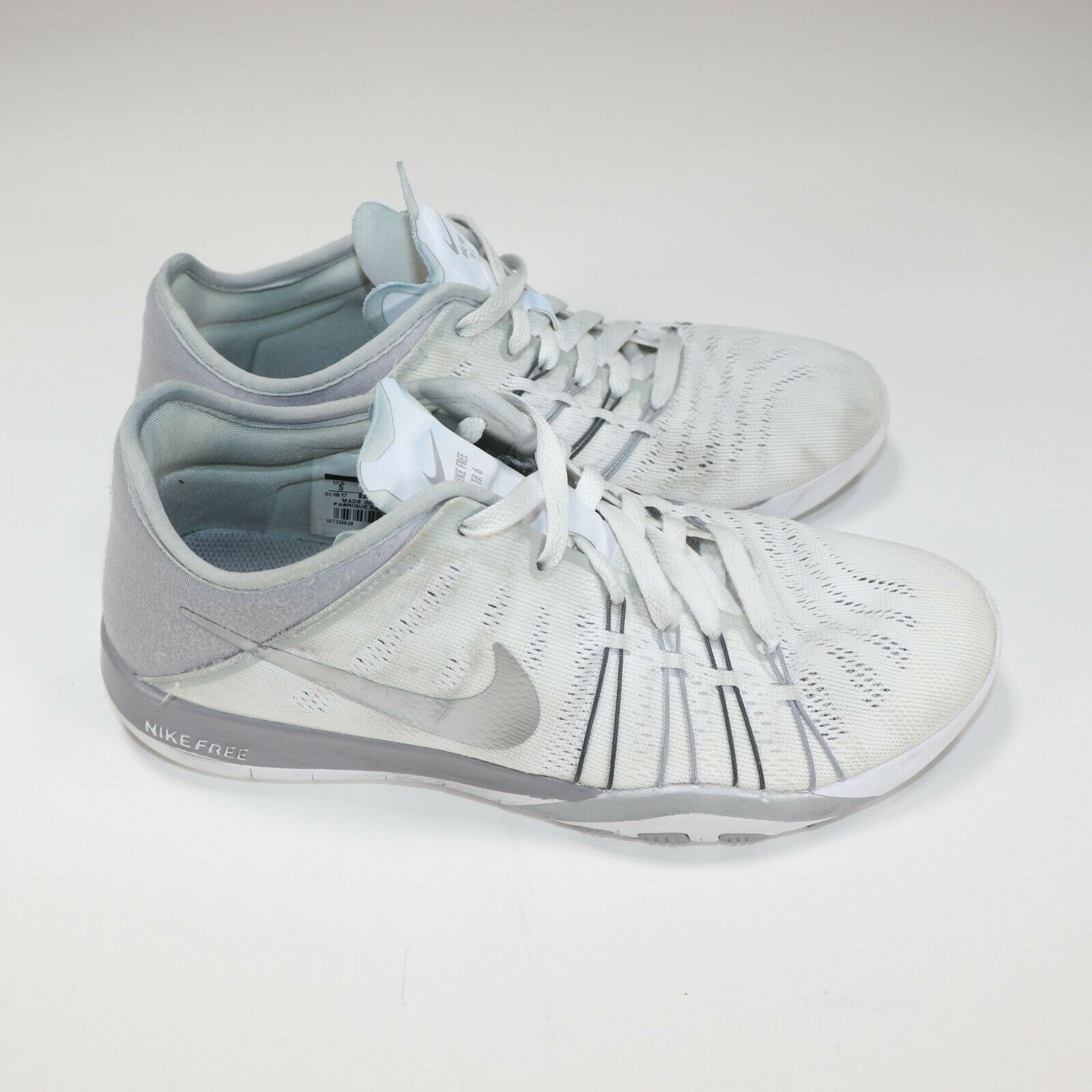 Nike Women Free Tr 6 White Training