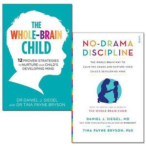 Details about Daniel J Siegel Collection Whole-Brain Child,No-Drama  Discipline 2 Books Set NEW