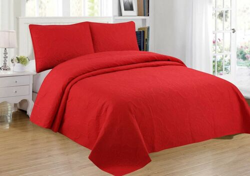 Sapphire Home 3-Piece Bedspread Coverlet Bedding Set Oversize King//Cal-King NEW