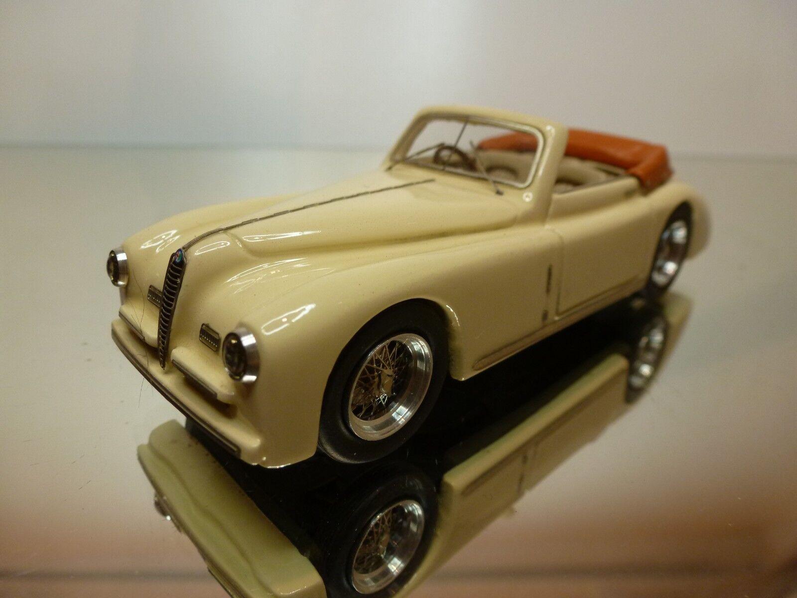 ALFA MODEL ALFA ROMEO 6C 2500S PININFARINA 1947 - CREAM 1 43 - EXCELLENT - 19