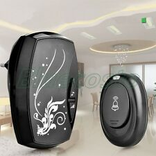 Wireless Remote Control Doorbell Door Bell 100M AC 220V Waterproof 36 Tunes FS