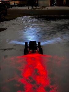 Arrma traxxas losi 5mm 3s led headlights & tail lights outcast felony infraction