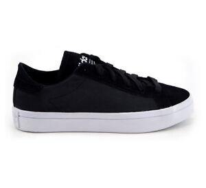 Details zu Adidas Schuhe Sneaker Court Vantage W S79976 Schwarz Weiß Damen Neu div. Größen