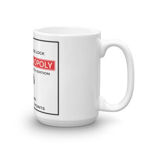 Monopoly Leg-Lock Mug