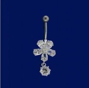 Hawaiian Sterling Silver Belly Button Navel Ring Piercing Circle W