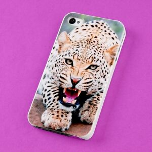 Wholesale-Lot-Cute-Leopard-Back-Skin-Case-Cover-Protector-For-Apple-i-phone-4-4S