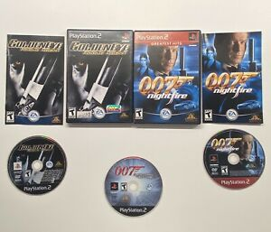 Playstation-2-GoldenEye-Rogue-Agent-007-Nightfire-amp-Everything-Or-Nothing-PS2