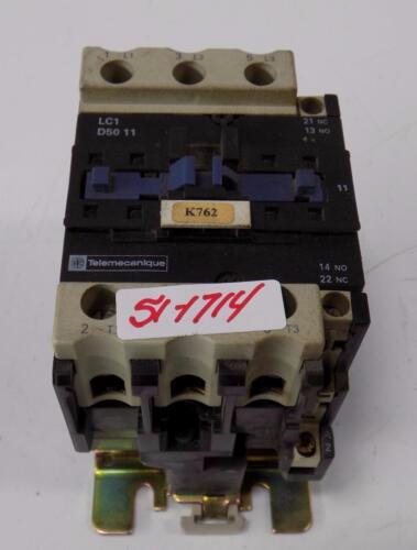 TELEMECANIQUE CONTACTOR STARTER LC1 D50 11