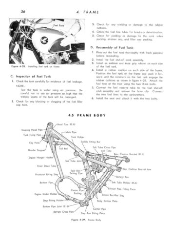 HONDA Workshop Manual CL77 /& CL72 1962 1963 1964 1965 1966 1967 /& 1968 Service