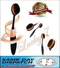 Pro Oval Brush Liquid Cosmetic Cream Foundation Powder Contour Blush Makeup
