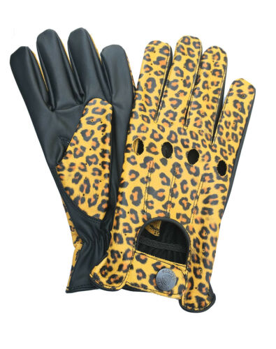 NEW REAL SOFT LEATHER MENS TOP QUALITY DRIVING GLOVES STYLISH FASHION D-507 All
