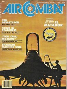 Air-Combat-Magazine-May-1977-TBD-Devastator-C-141-Norton-AFB-Spandau-Spain-Navy