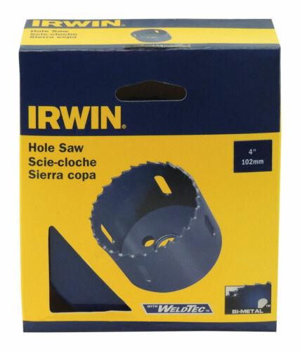 Irwin  4 in x 2 in L Bi-Metal  Hole Saw  1 pc. Dia