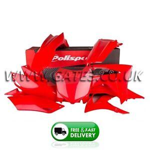 Polisport Plastic Kit Set Replacement White Honda CRF450R 2013-2016
