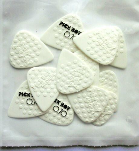 0,70 mm 12 PickBoy Mega Grip ceramic picks Plektren