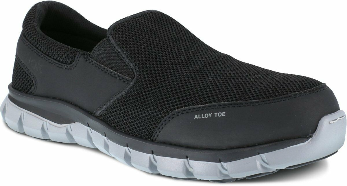 Reebok Alloy Toe Sublite Slip On EH Rated Slip Slip Slip Resistant EVA Midsole WIDE 6-14 9a28ab