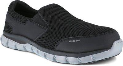 Reebok Steel Toe Work Shoe EH Rated Slip Resistant in Wide 6 to 15