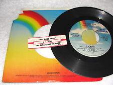 "B.B. King ""Big Boss Man / My Guitar Sings The Blues"" 45 RPM, 7"", +Jukebox Tab"