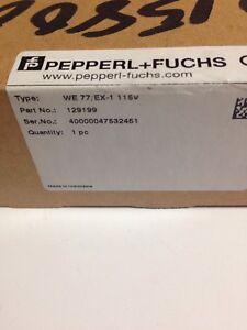 Pepperl Firma i Przemysł Pozostałe Fuchs WE77/Ex1 Trennschaltverstärker