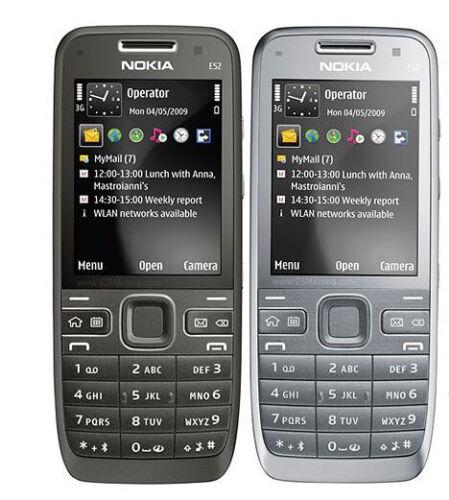 1 of 1 - Original Unlocked Nokia E52 WIFI 3.2 MP 2.4 inches MP3 Smartphone Black