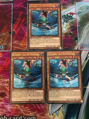Gale The Whirlwind 1st Edition DUSA-EN078 NM Yu-Gi-Oh 3x Ultra Rare Blackwing