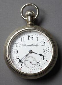 Hampden 18 Size Grade 64 17 Jewel Pocket Watch 2536128