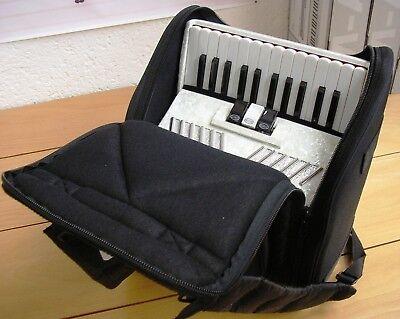 "AKKORDEON BAG TASCHE  /""FMB-PREMIUM/""  für 48 BASS Akkordeon Rucksack Softcase"