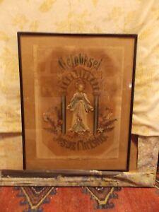 Ancien Monastère De Travail-loué Soit Jésus-christ-gebr.-afficher Le Titre D'origine