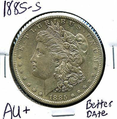 1885 morgan silver dollar value