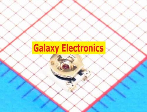 100PCS SMD 500K ohm 3X3 Potentiometer Trimmer Resistor EVM3ESX50B55