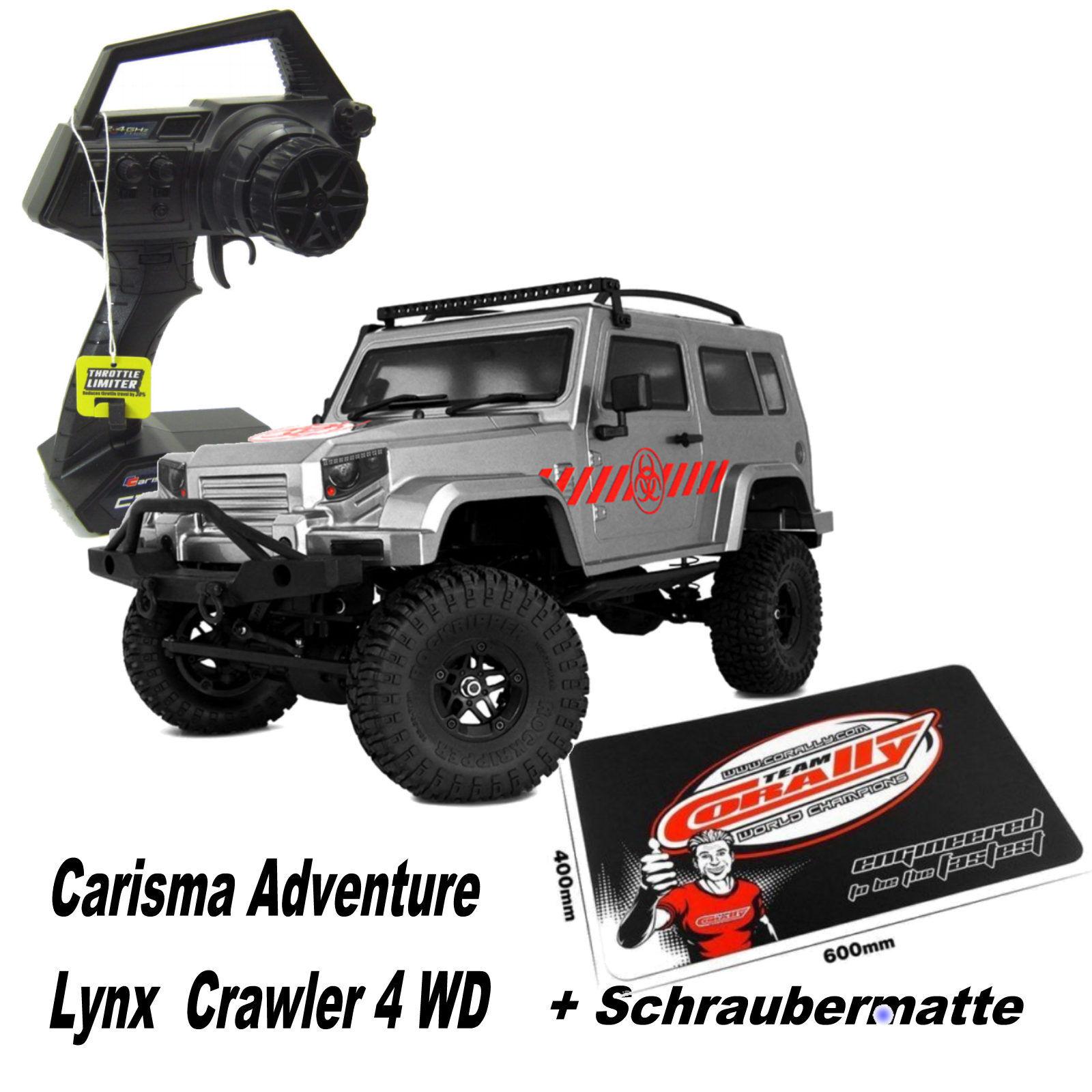 Carisma ADVENTURE ca-78768 Lynx RTR 1-10 285mm scale Crawler + CACCIAVITI Tappetino