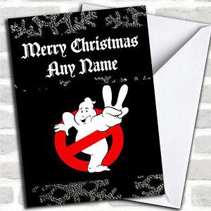 Ghostbusters Personalised Christmas Greetings Card