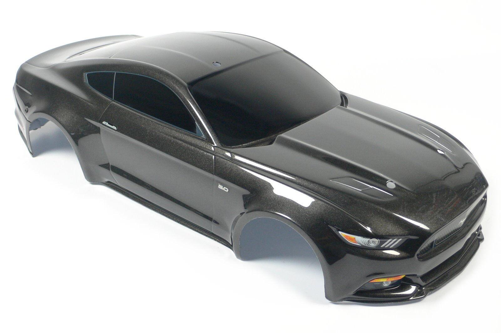 TRAXXAS FORD MUSTANG GT 1:10 1:10 carrozzeria 8311x BODY NERO VIAGGI AUTO