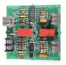 Rauland Borg Line Connection Junction Circuit Board Pla1