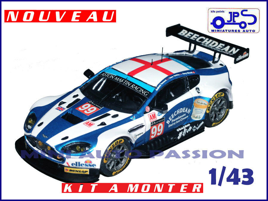 Kit JPS - Aston Martin - 24 Heures du Mans 2016 - Prépeint - ref   KP404