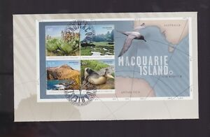 Australia-2010-Antarctic-Territory-AAT-Macquarie-Island-FDC-J-487