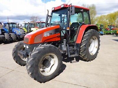 Steyr 9078-9094 Tracteurs Dutiful Étui 78-94 Cs Manuel Atelier