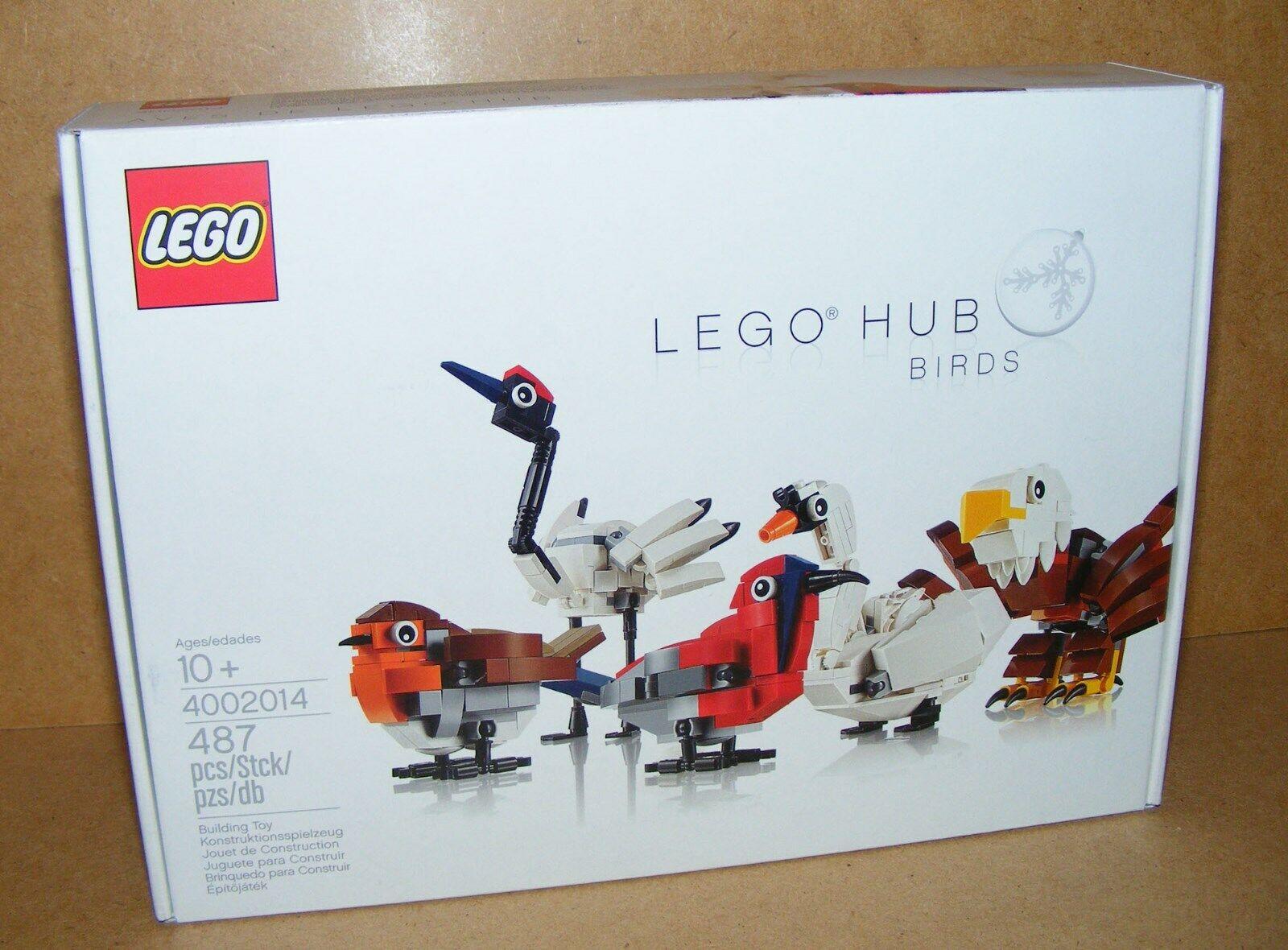 NEW LEGO 4002014 HUB BIRDS BIRD RARE EXLUSIVE 2014 NISB EMPLOYEE GIFT UNOPENED