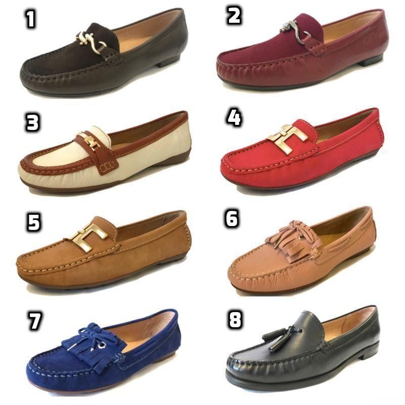 Capolloni Bottes femmes en cuir italien Conduite Mocassins Smart Mocassins Chaussures Fo