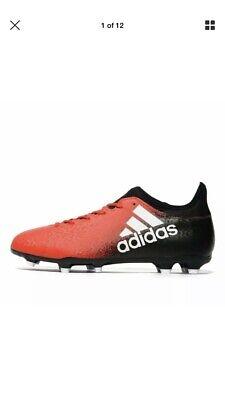 adidas Mens B Grade Techfit X 16.3 Firm Ground Football Boots rrp£65 | eBay
