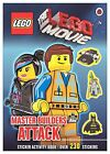 The LEGO Movie: Master Builders Attack Sticker Book by Penguin Books Ltd (Paperback, 2014)