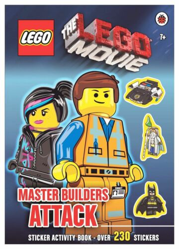 1 of 1 - The LEGO Movie: Master Builders Attack Sticker Book, new