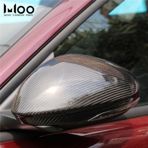 Add on Style Carbon Fiber Side Mirror Cover For Alfa Romeo Giulia 2017 2018