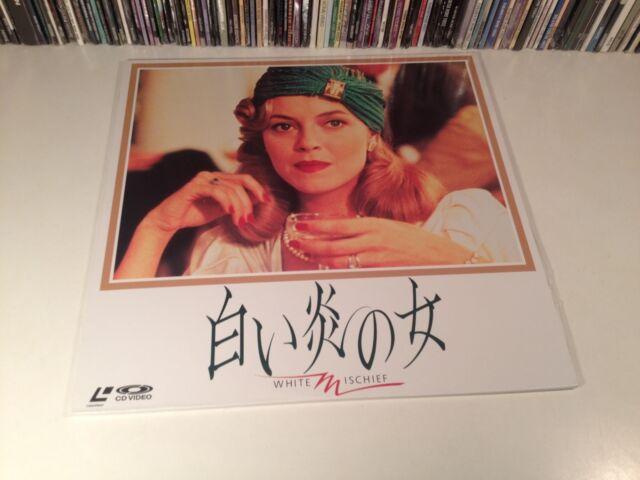 White Mischief Rare Japan Laserdisc British True Crime Drama 1987 40's Kenya OOP