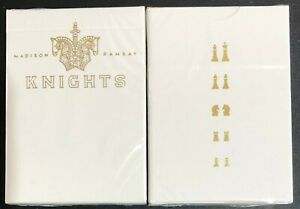 Bicycle-Ellusionist-Knights-V2-Madison-Ramsay-US-Playing-Cards-Magic-Poker-NEW