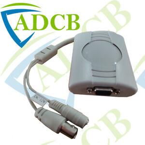 VGA02ZA BNC TO VGA CONVERTER ADAPTER FOR CCTV MONITOR