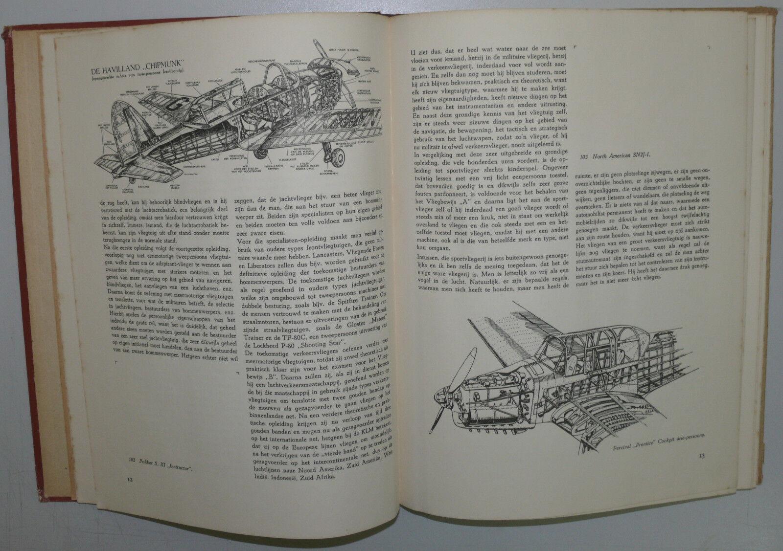 Vliegende Vleugels Luchtvaart van 1949 consejero niemeijer Groninga Groninga Groninga 920c48