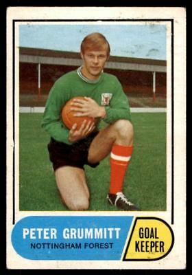 A/&BC-FOOTBALL 1969 GREEN BACK FACTS-#090 PETER HINDLEY NOTTINGHAM FOREST